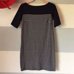 Navy Stripe Gap Dress